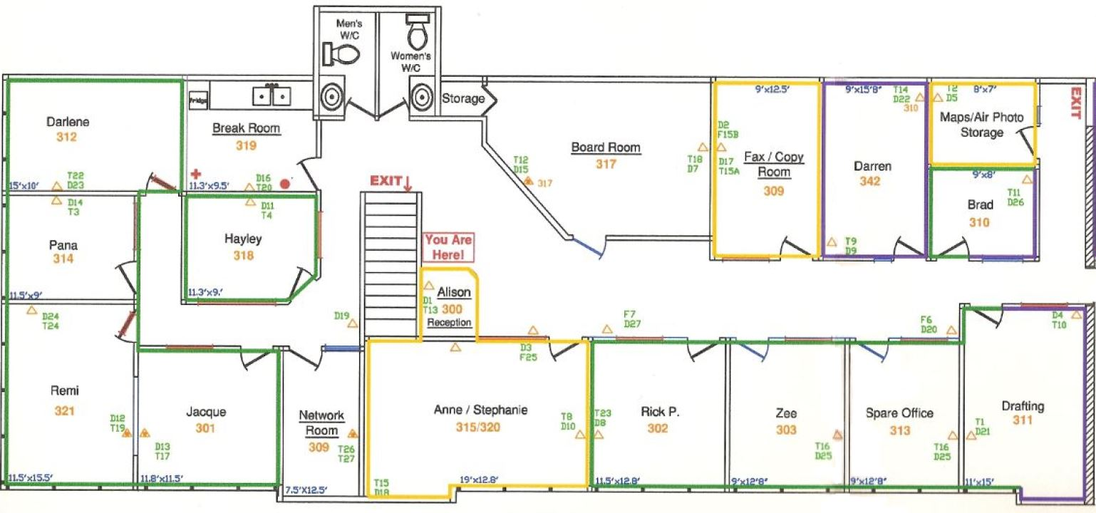 Great evacuation route template images entry level for Fire plans